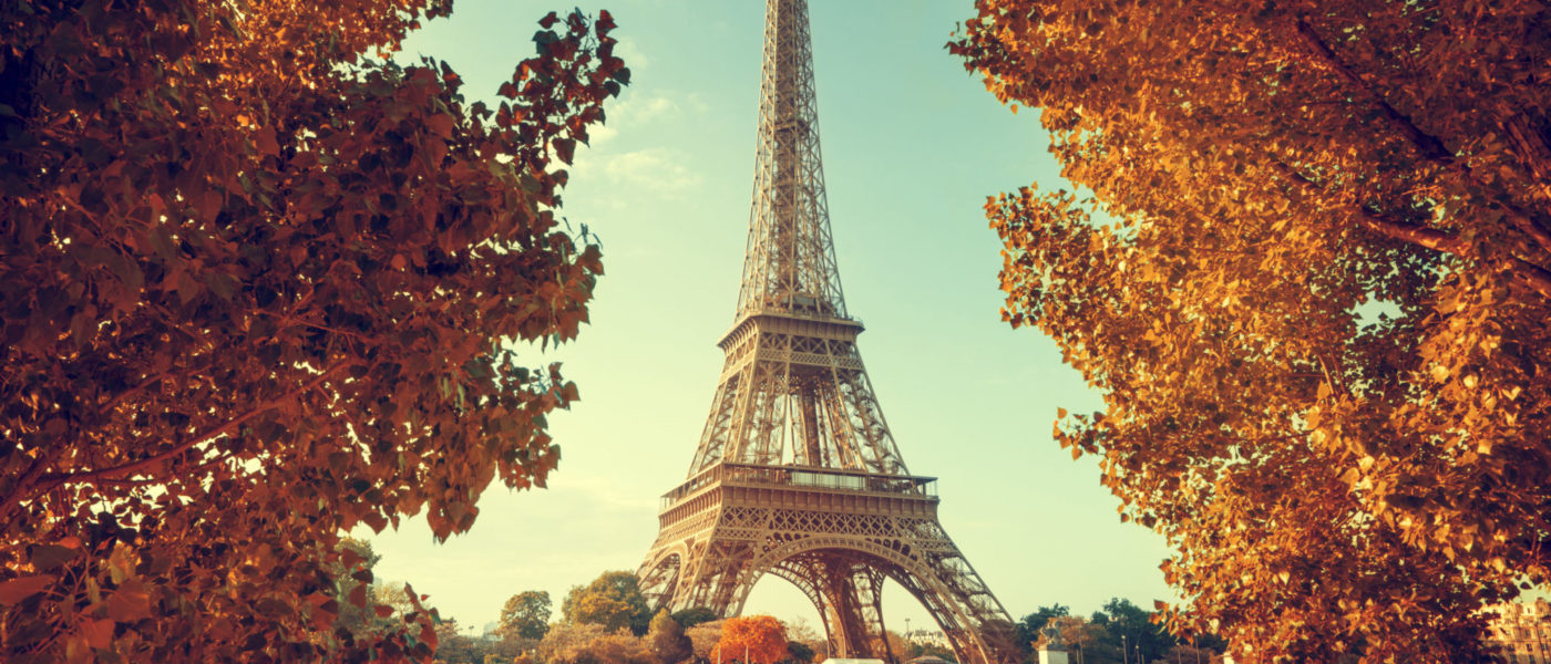 44840244 - seine in paris with eiffel tower in autumn time